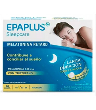 Epaplus Retard + Triptófano  60 comprimidos