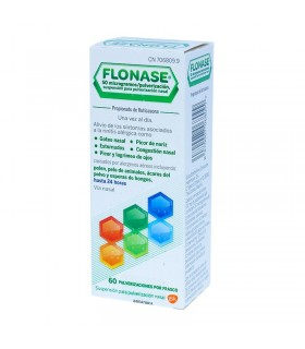 FLONASE 50 MCG-PULSACION NEBULIZADOR NASAL 60 DOSIS