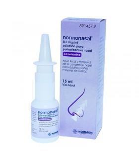 NORMONASAL 0.5 MG/ML NEBULIZADOR NASAL 15 ML